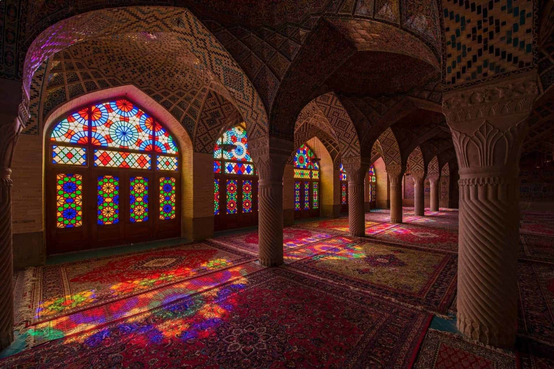 Inside the Pink Mosque