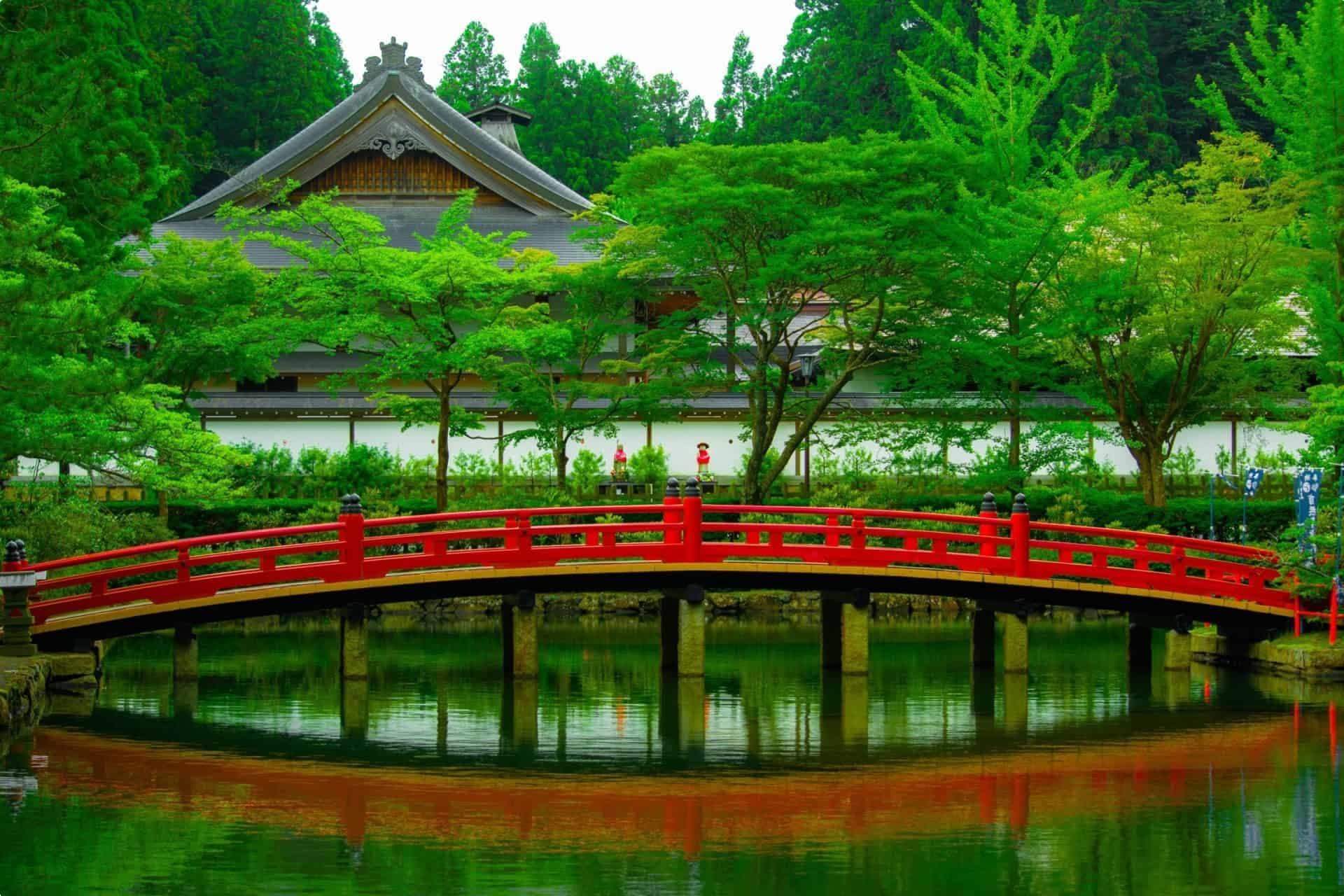 A bridge in Japan