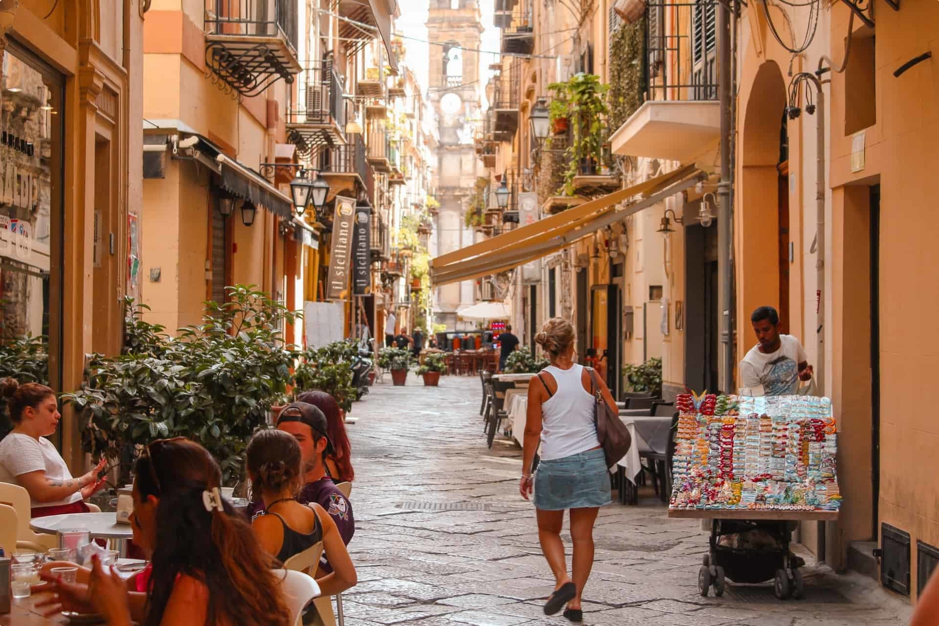 A street in Palermo, Sicily