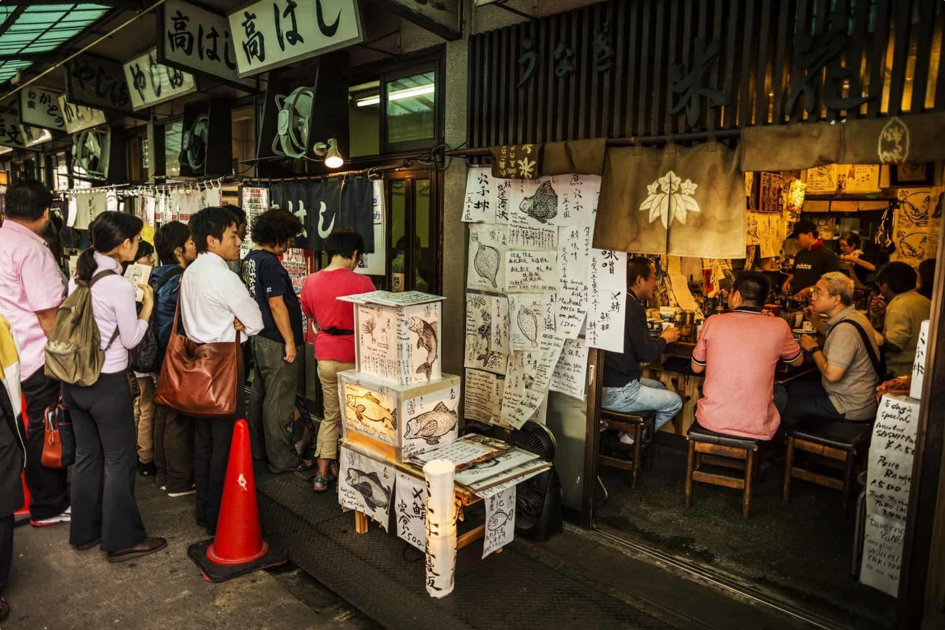 Tsukiji in Tokyo