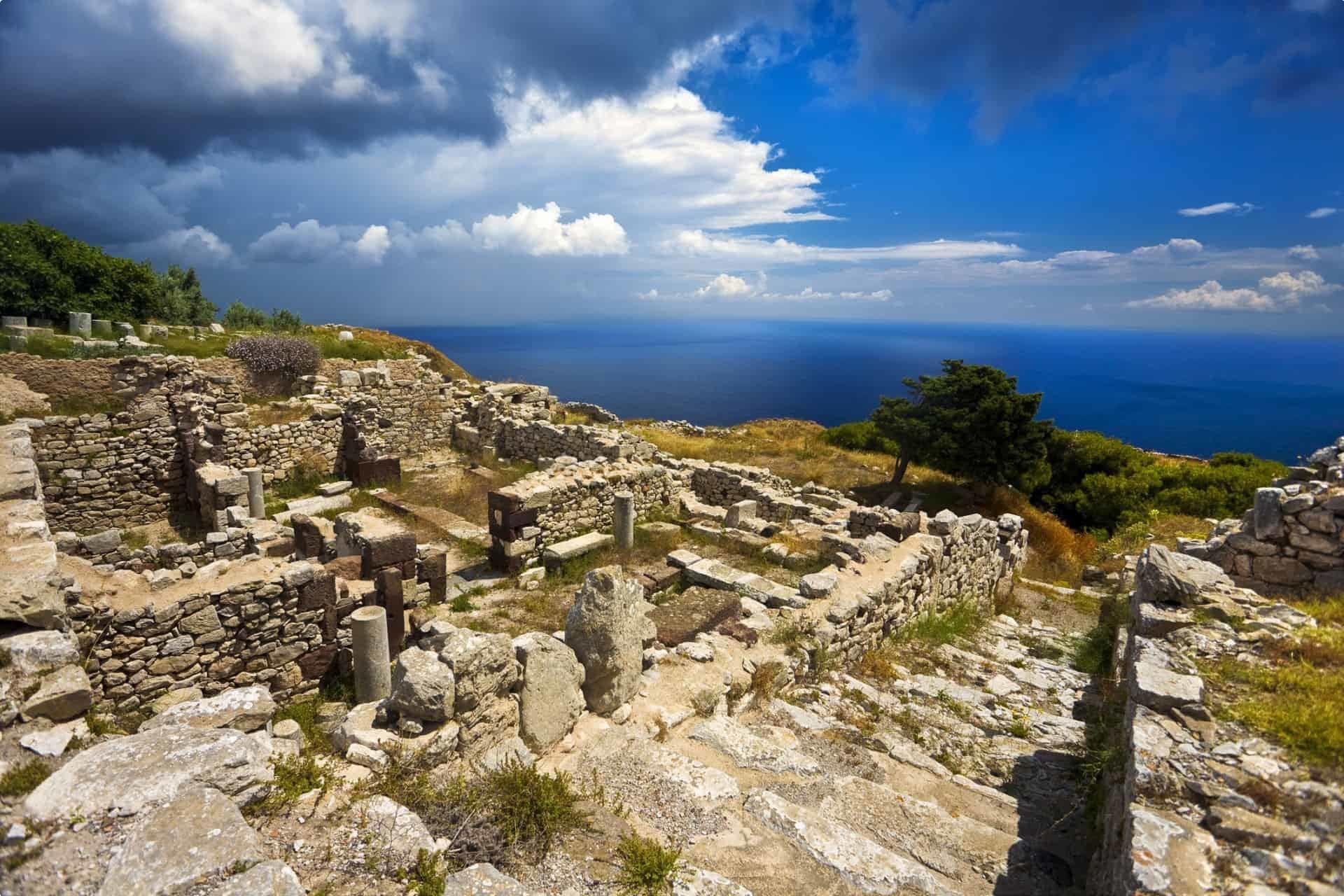 Ancient Thera Santorini history