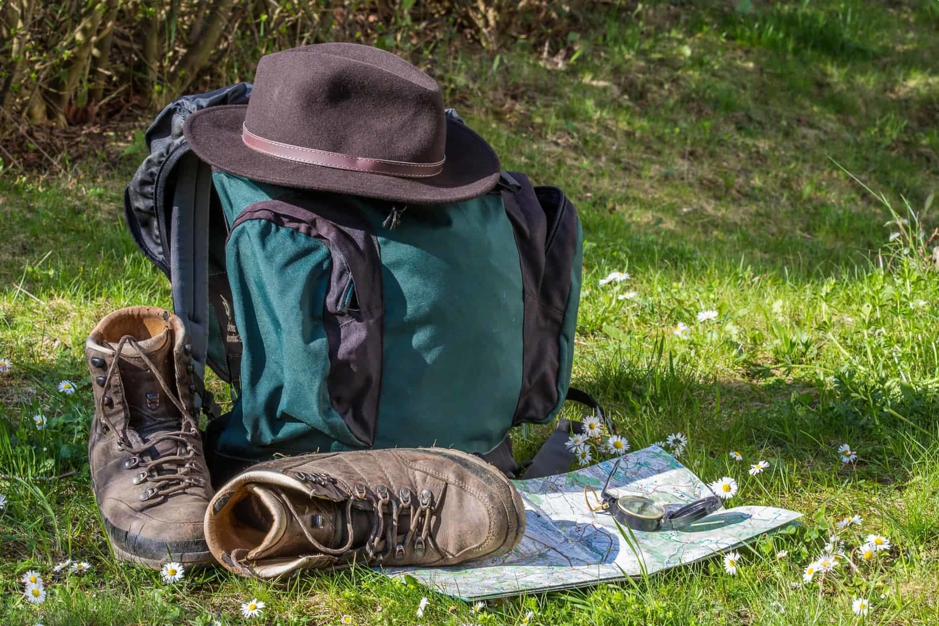 Walking and hiking shoes socks