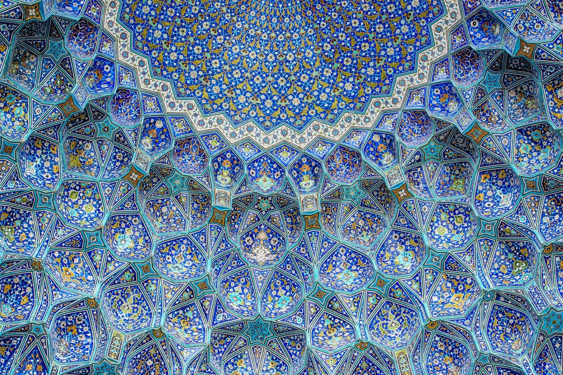 isfahan tiles