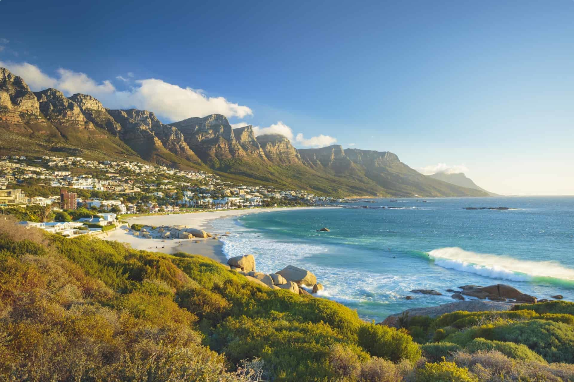Southern Africa landscape
