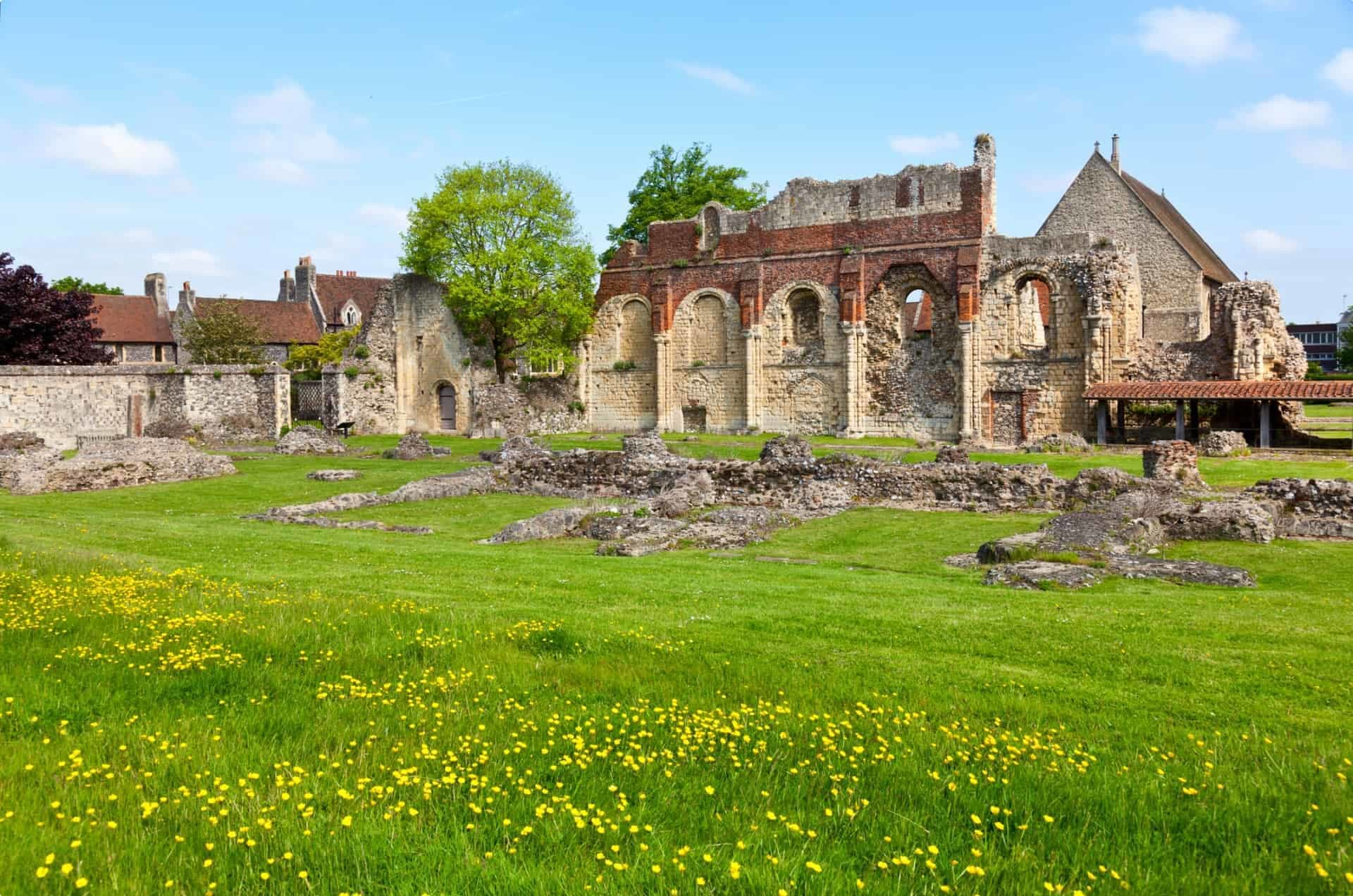 Ruins of St Augustine's Abbey