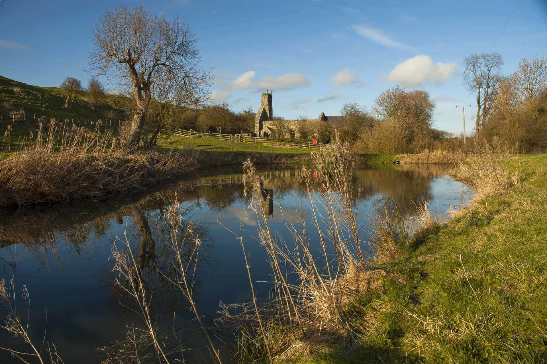 The medieval village of Wharram Percy