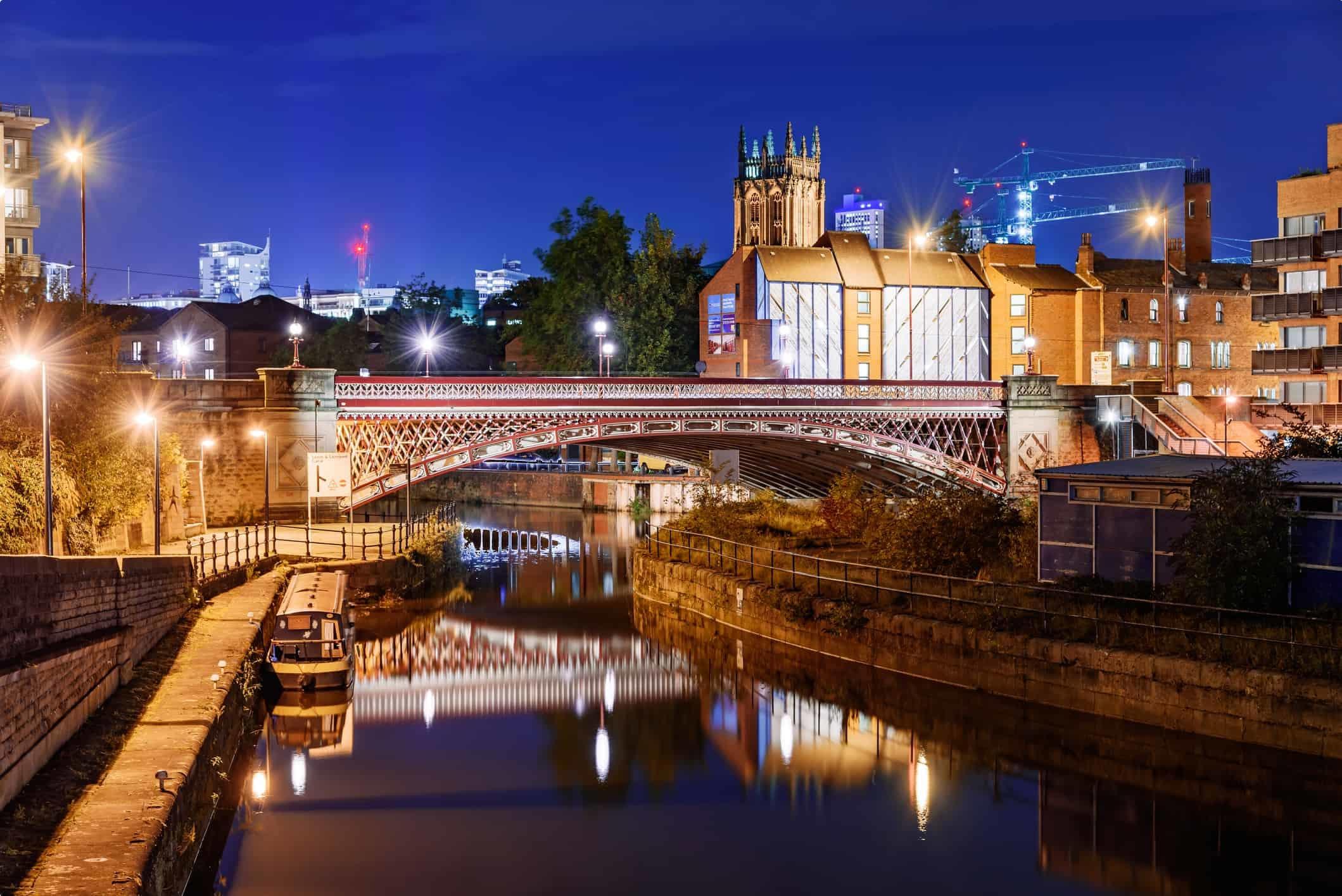 Leeds Clarence Dock - England