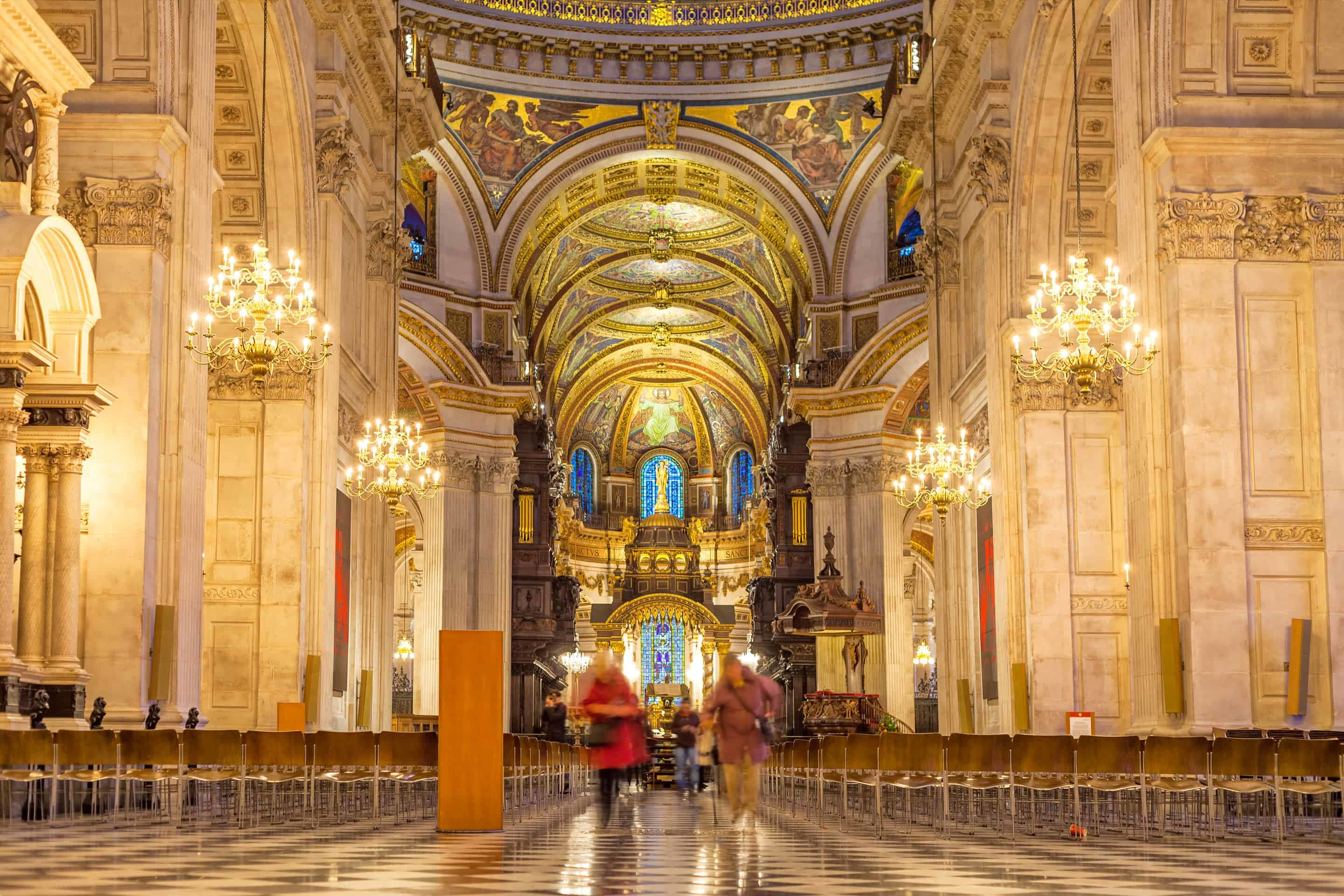 Interior of St Paul's Cathedral