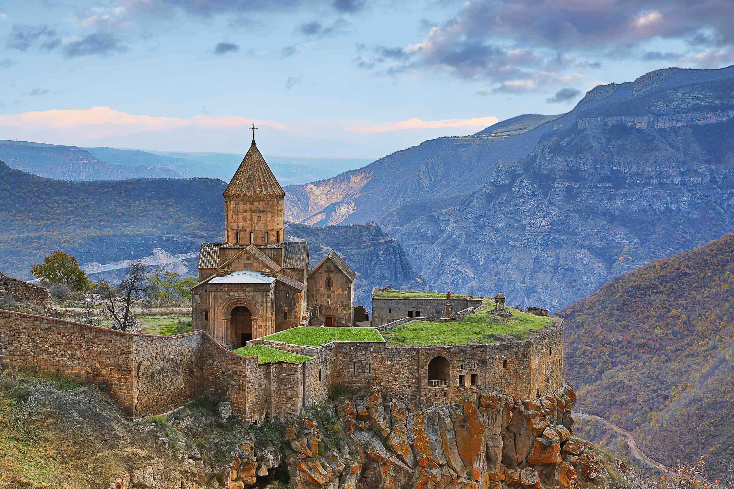 Tatev Cathedral, Armenia.