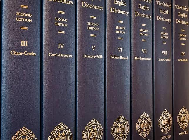 Oxford English Dictionaries
