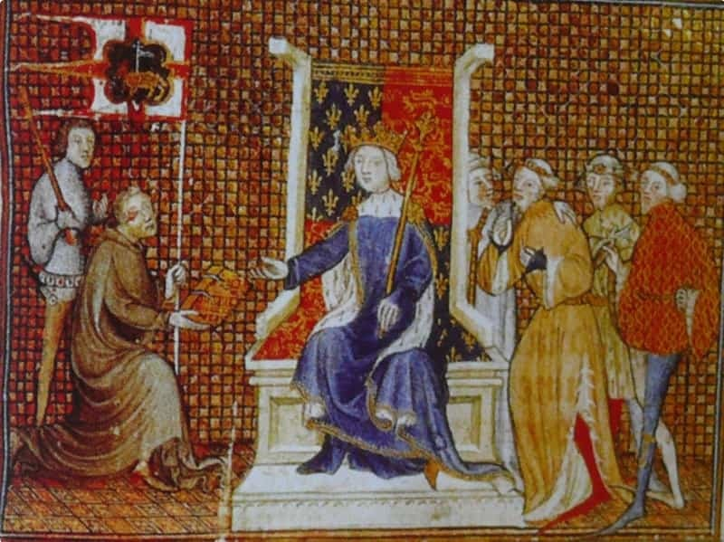 Late 14th century men's fashion