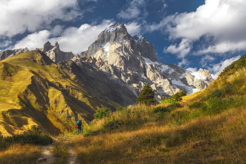 Mountain Scenery in Svaneti