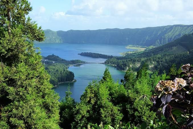 The Azores, off the coast of Portugal