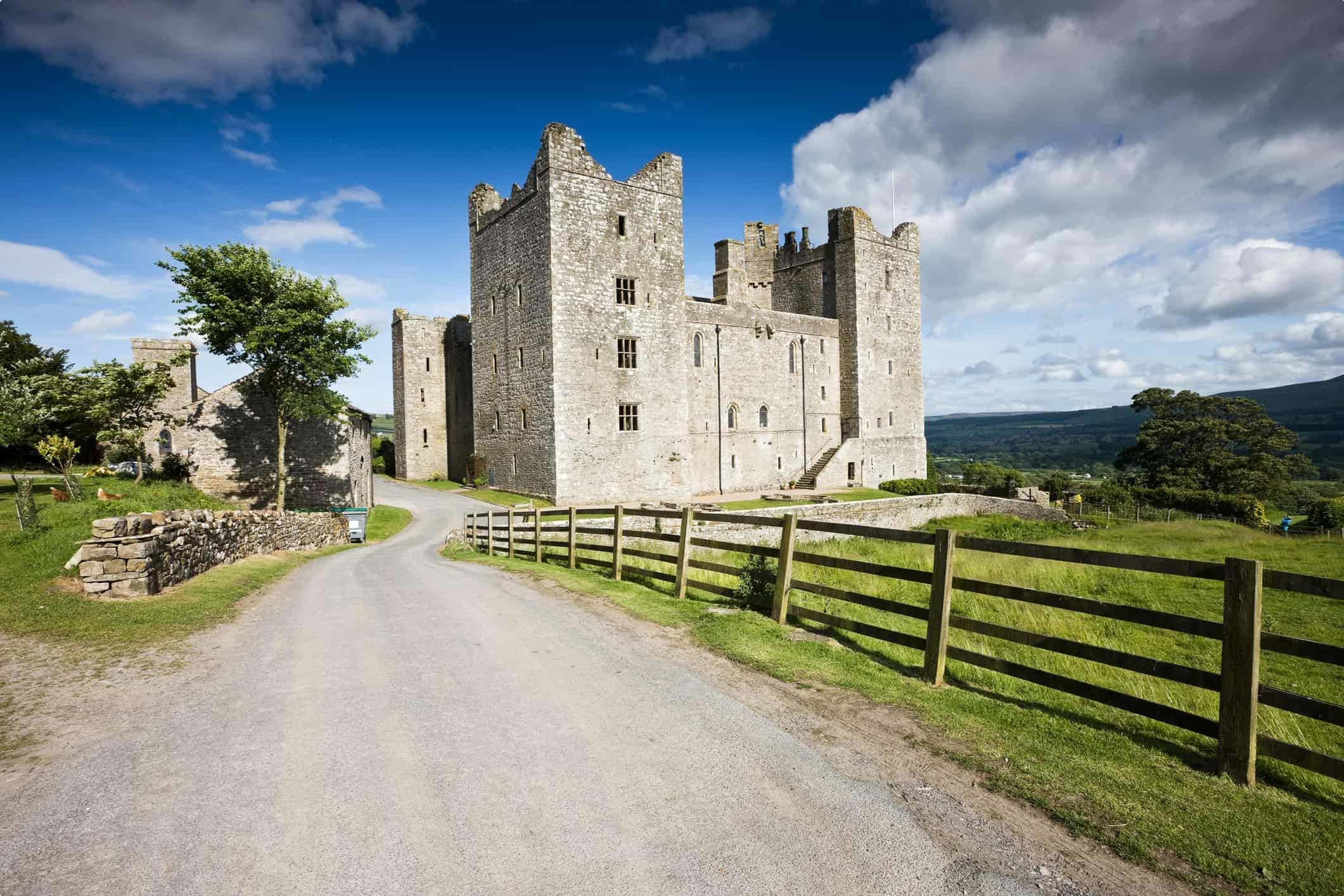 Manorial Castle in Wensleydale