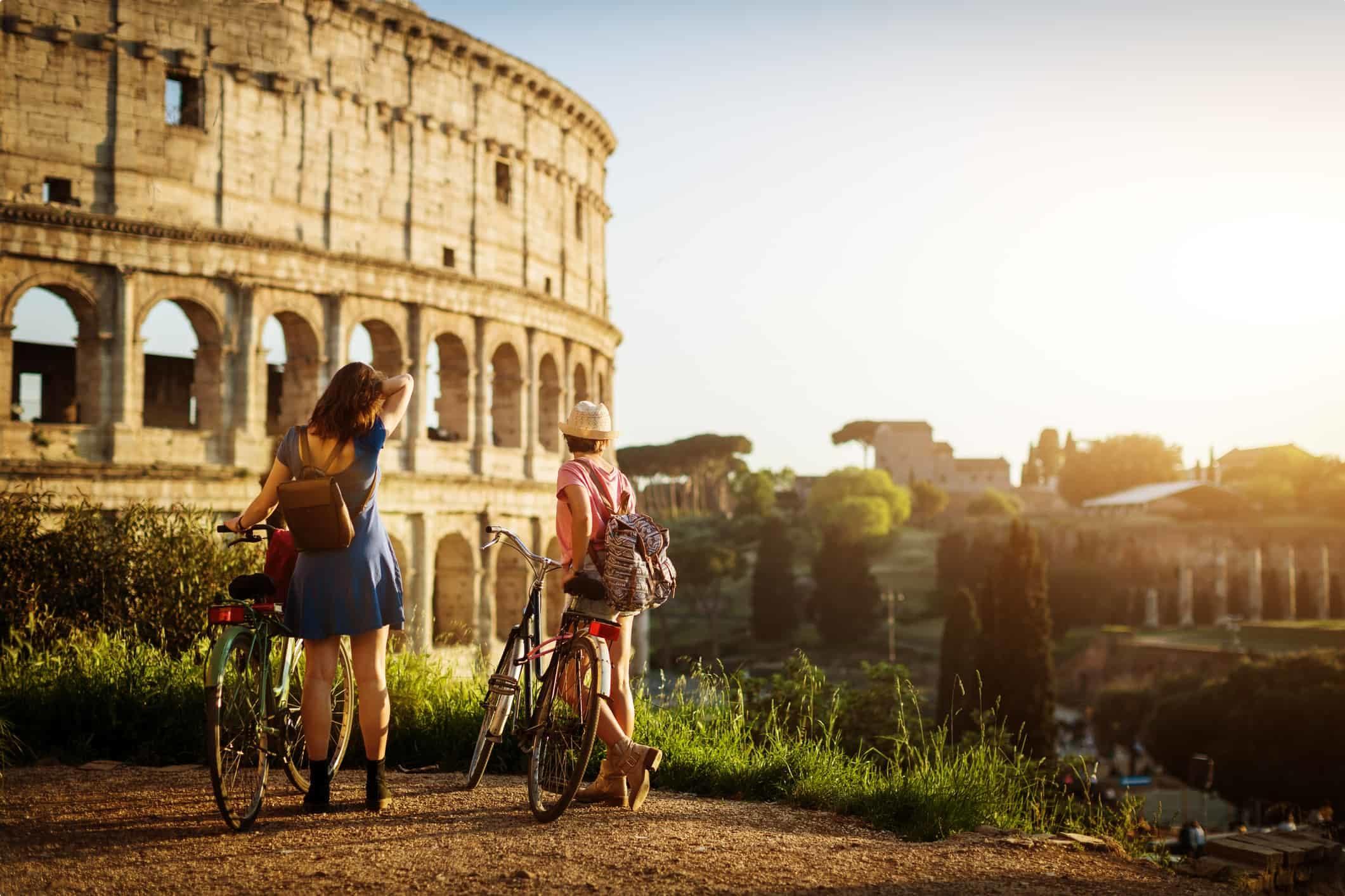 Roman Colosseum, Rome.