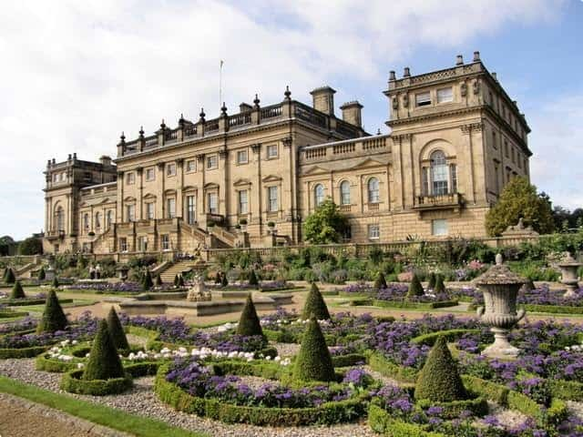 Harewood House and its terrace gardens