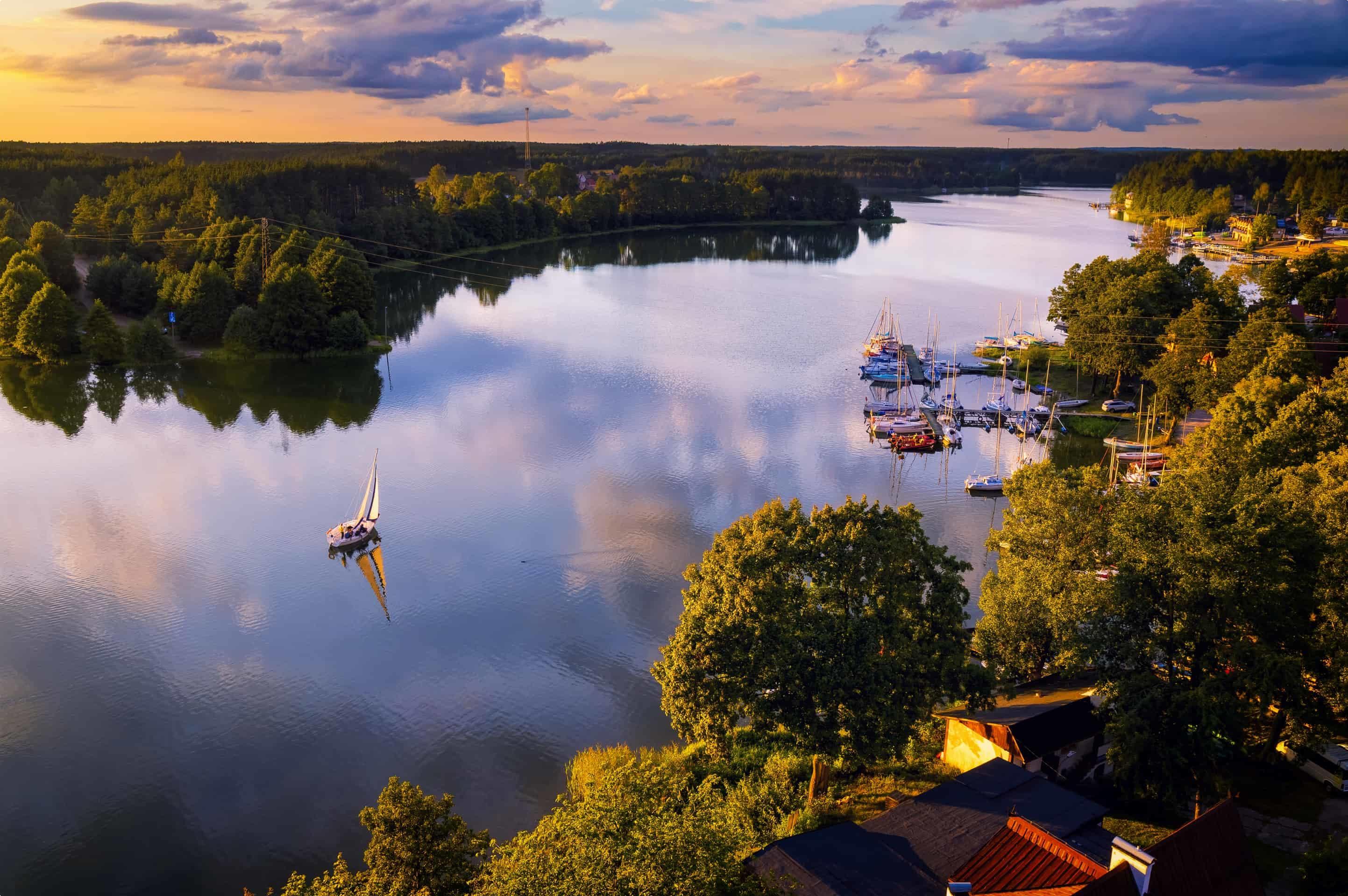 Wdzydze Lake