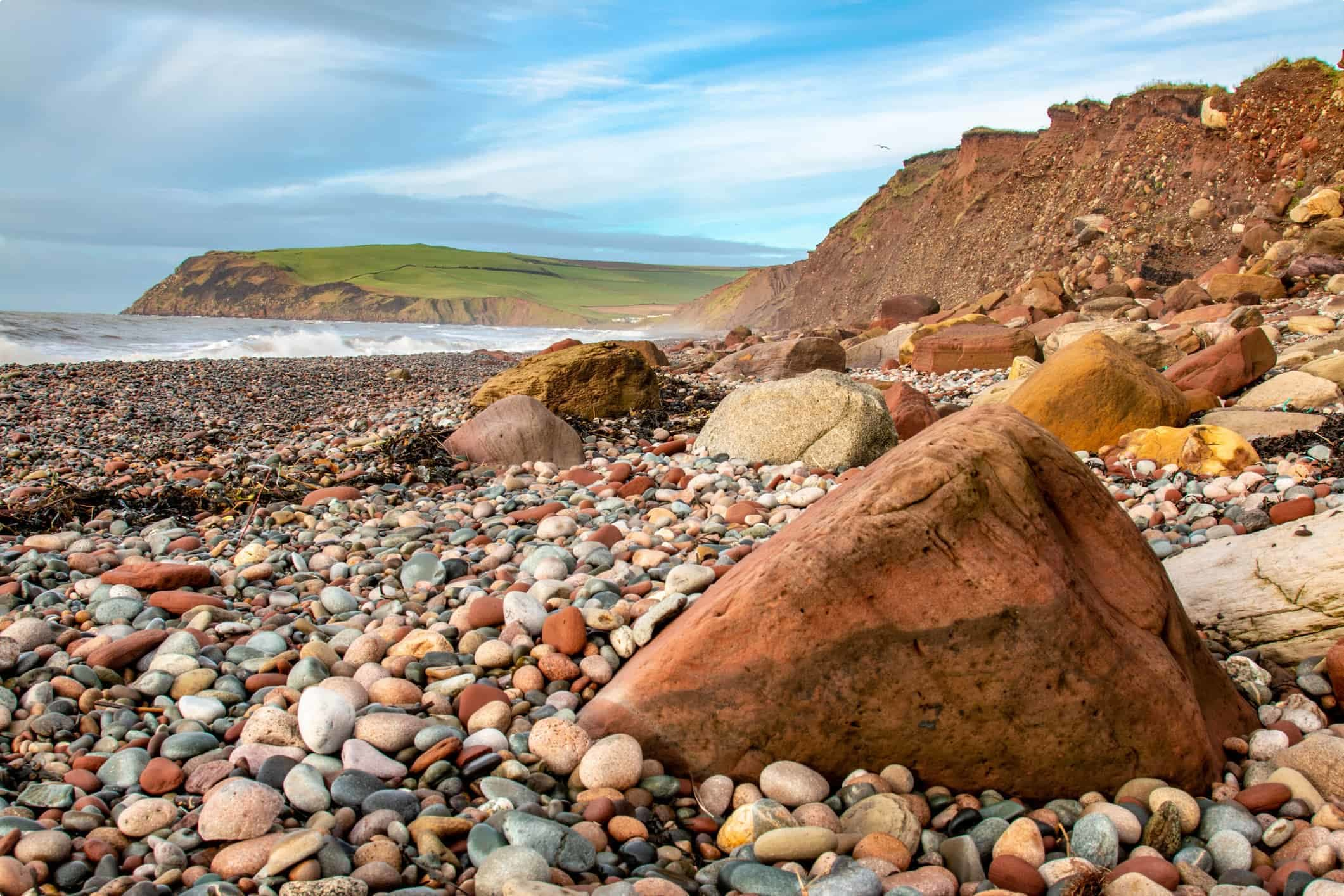 St Bees Beach, Cumbria