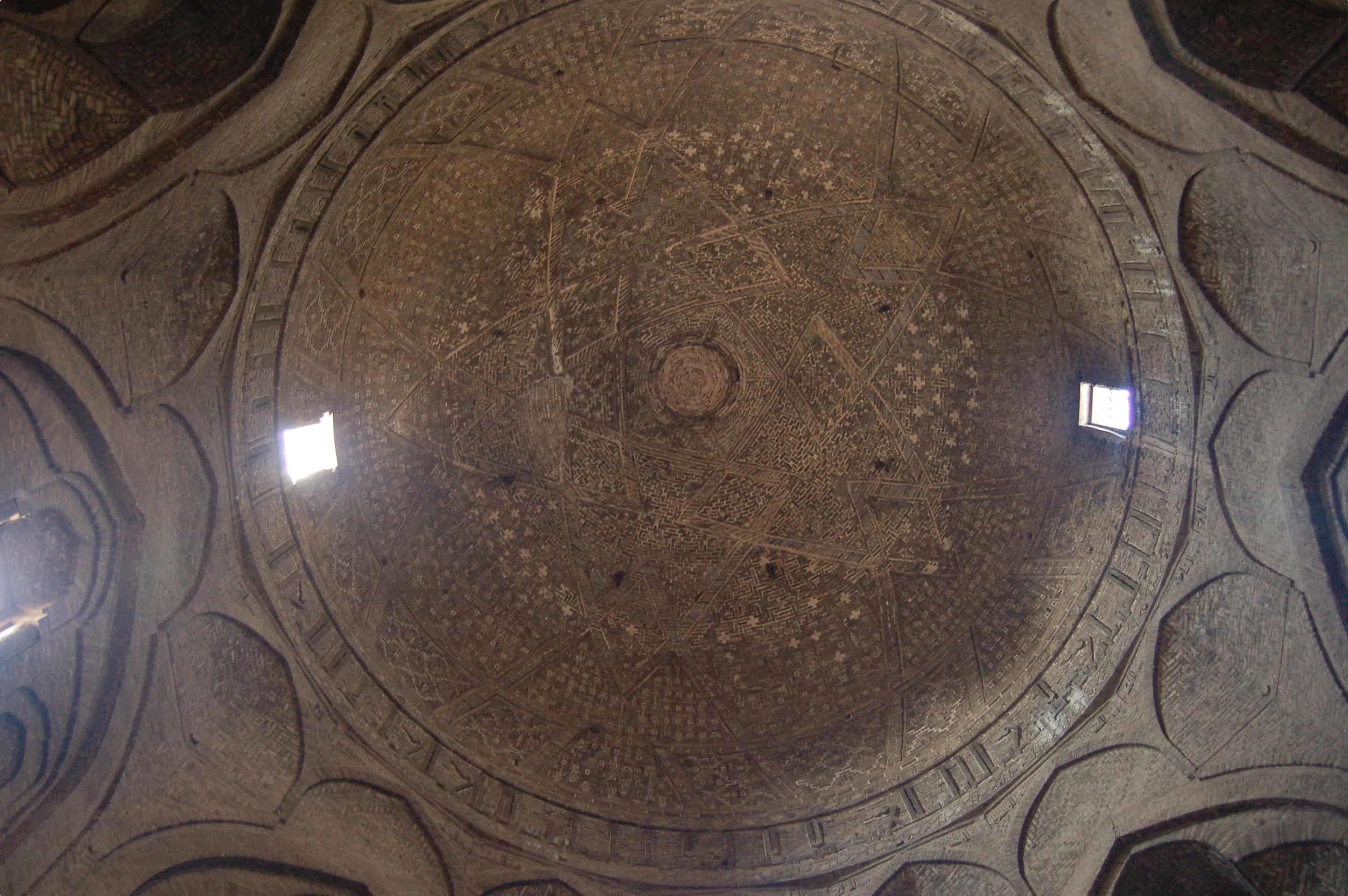 Taj al-Mulk dome in Isfahan's Friday Mosque