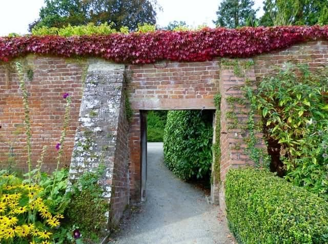 The entrance to the walled garden at Berrington Hall