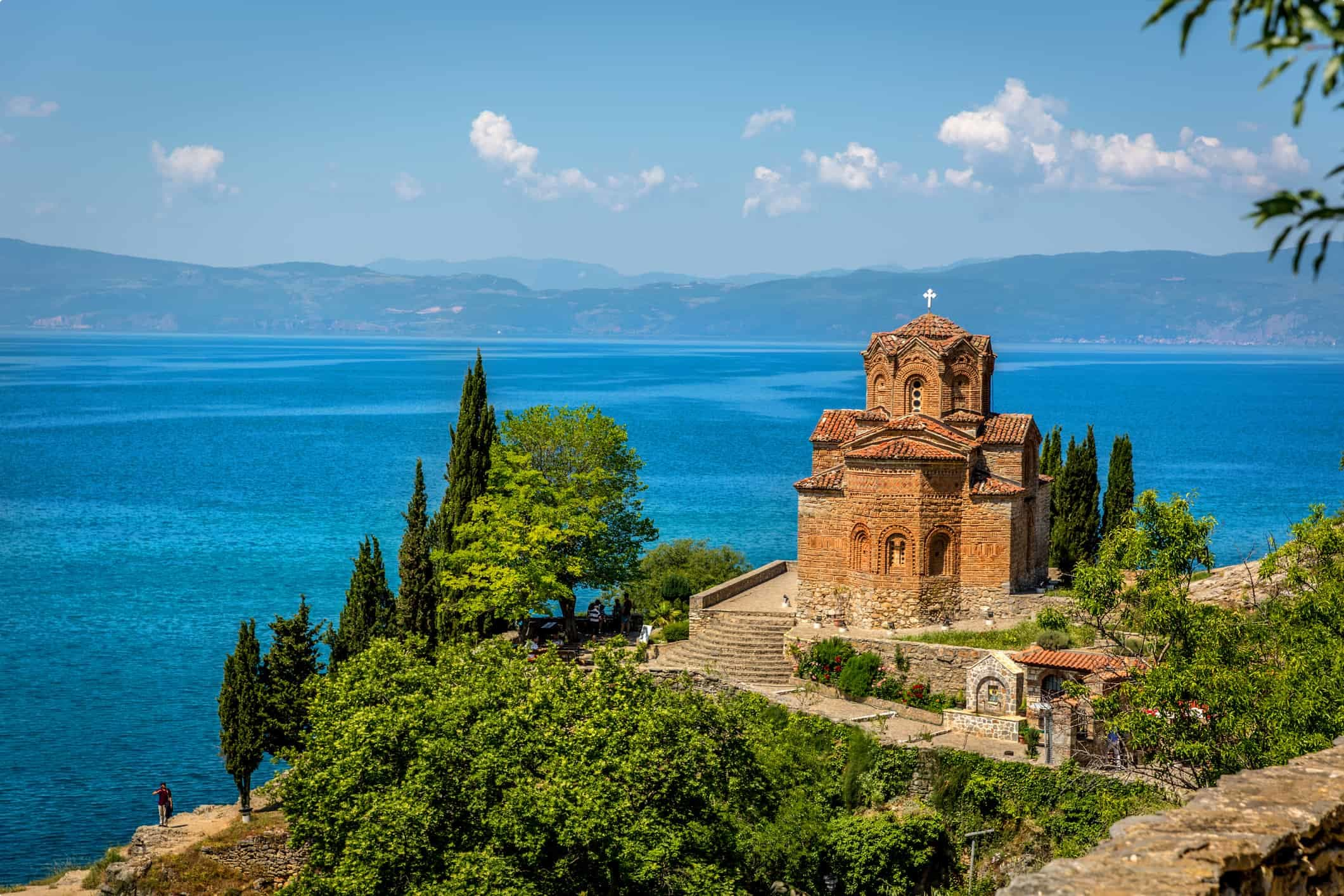 Byzantine Church at Lake Ohrid