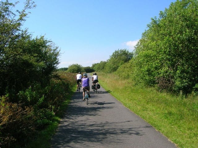 National Cycle Network Route 4, Millennium Coastal Park