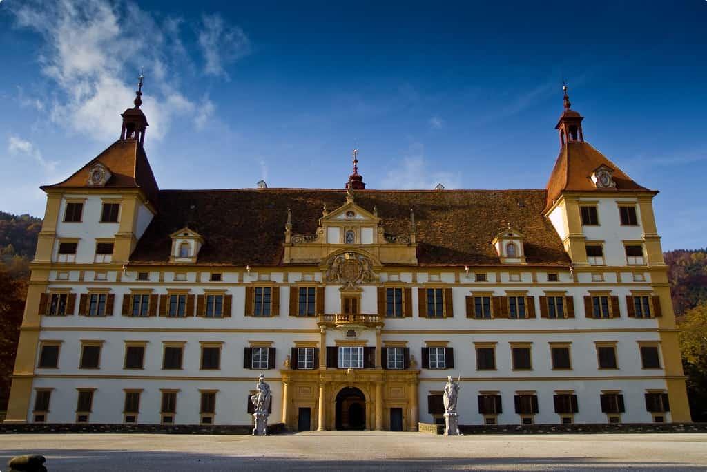 Eggenberg Palace, also known as Schloss Eggenberg