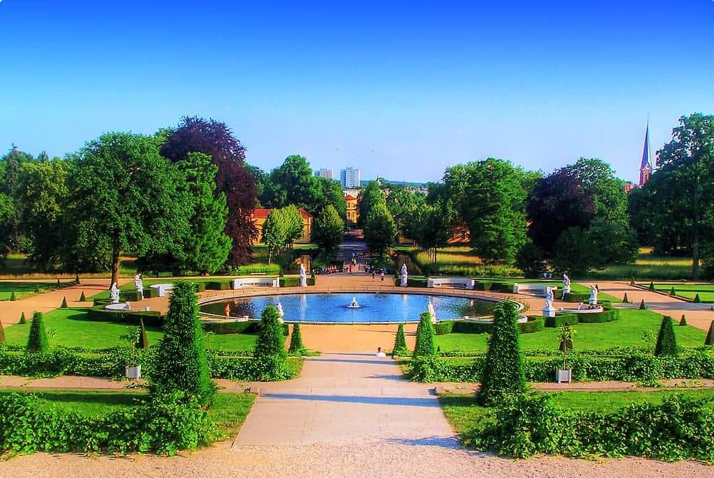 The gardens at Sanssouci