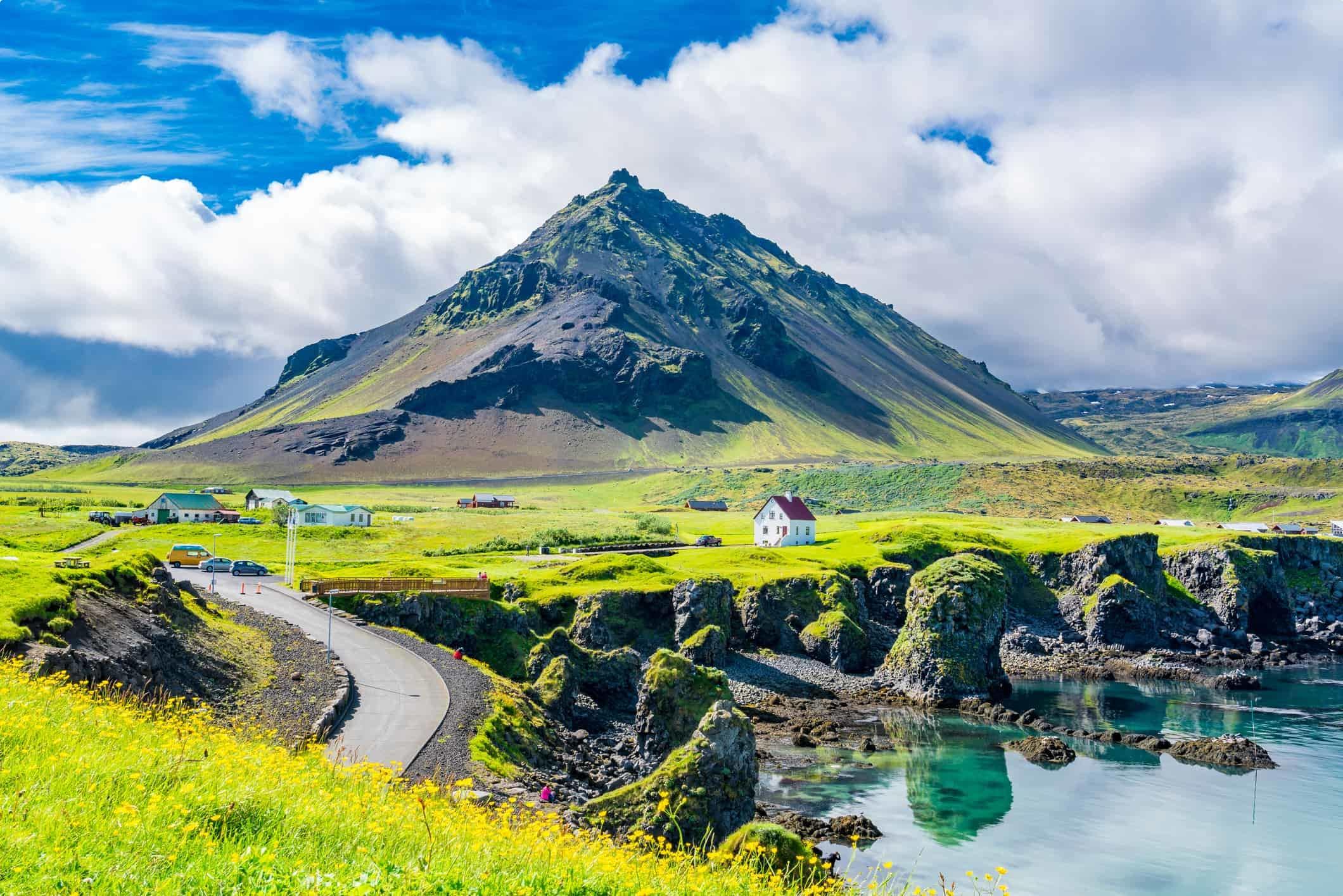 Arnarstapi village, Iceland