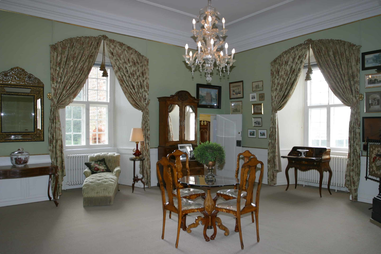 The interior of Egeskov Castle