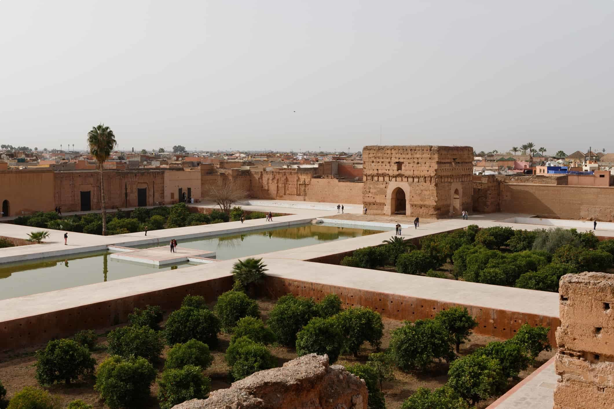 El Badi Palace Marrakech Morocco