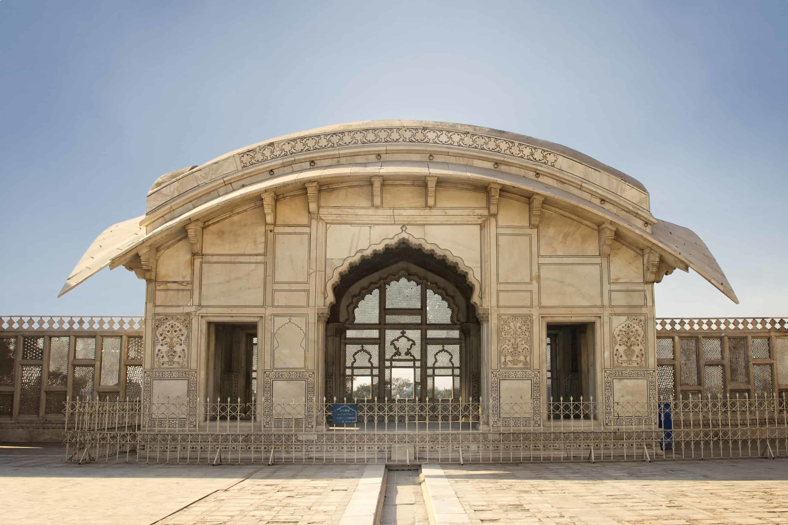 Naulakha Pavilion in Lahore Fort, Lahore, Pakistan