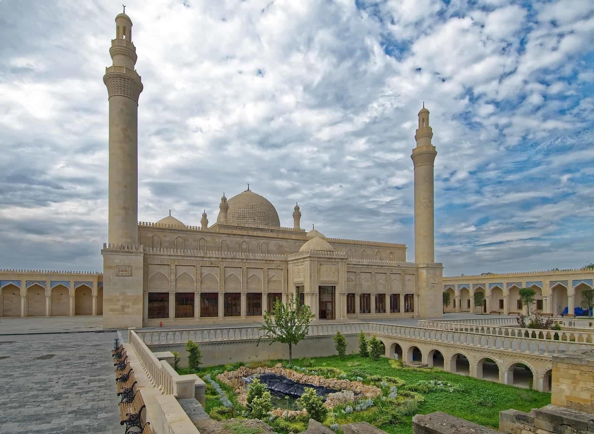 Juma Mosque of Samakhi Azerbaijan azerbaijan-3699444_1920