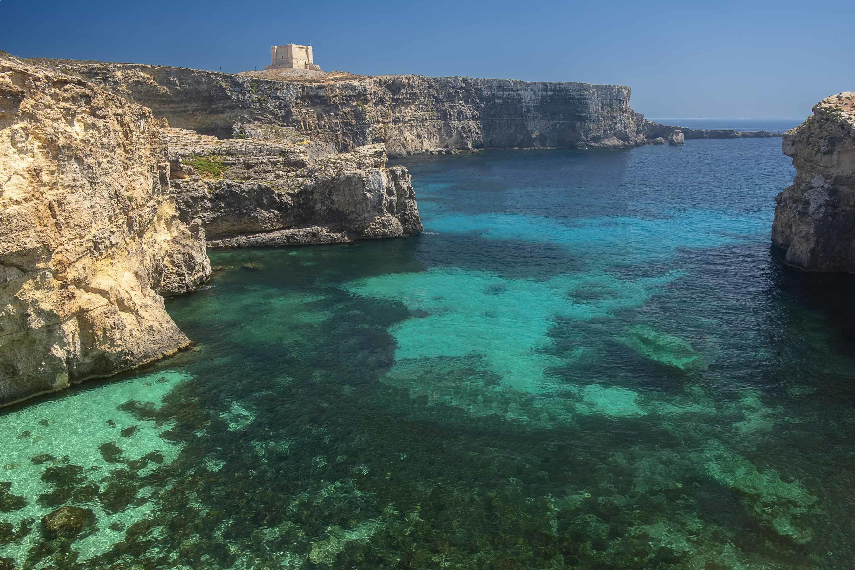 Malta coast