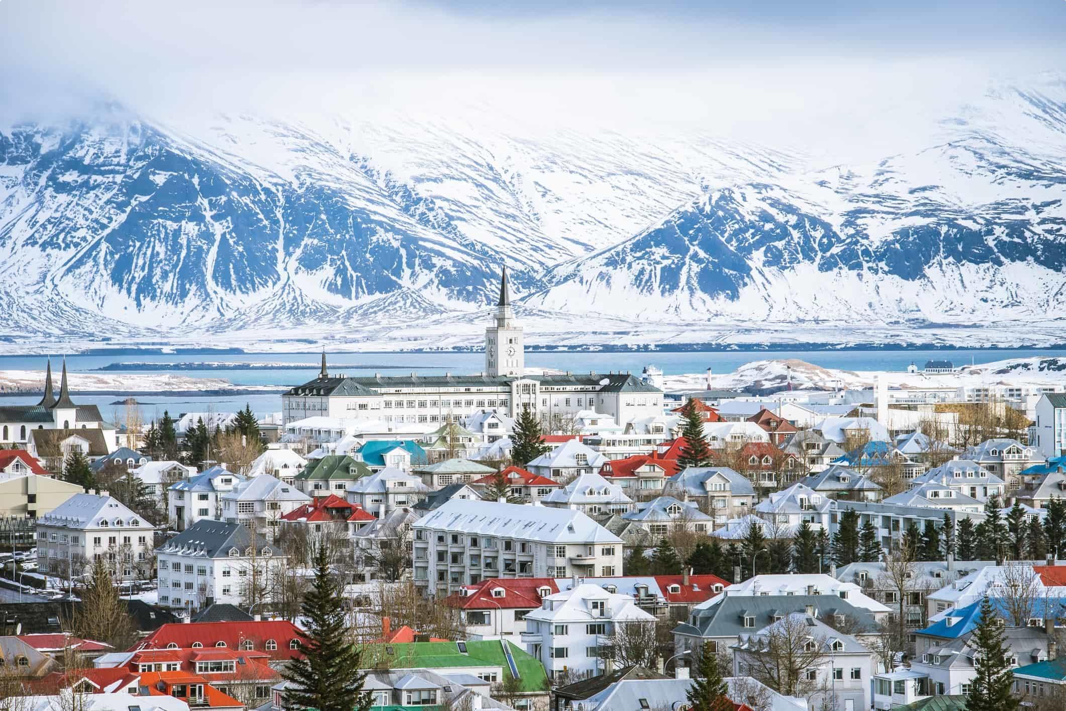 Reykjavik capital city of Iceland