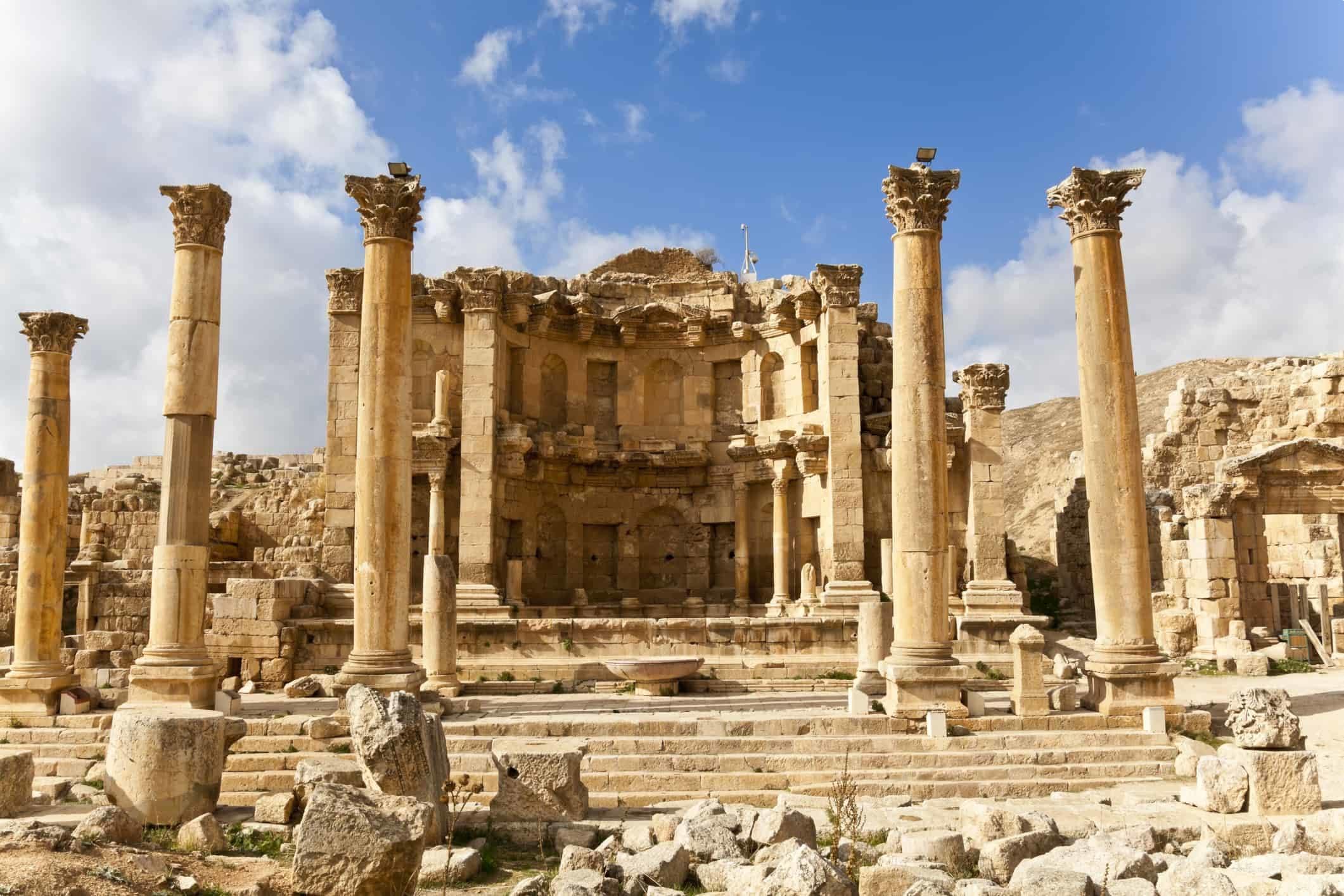 Nymphaeum Jordan, Jerash