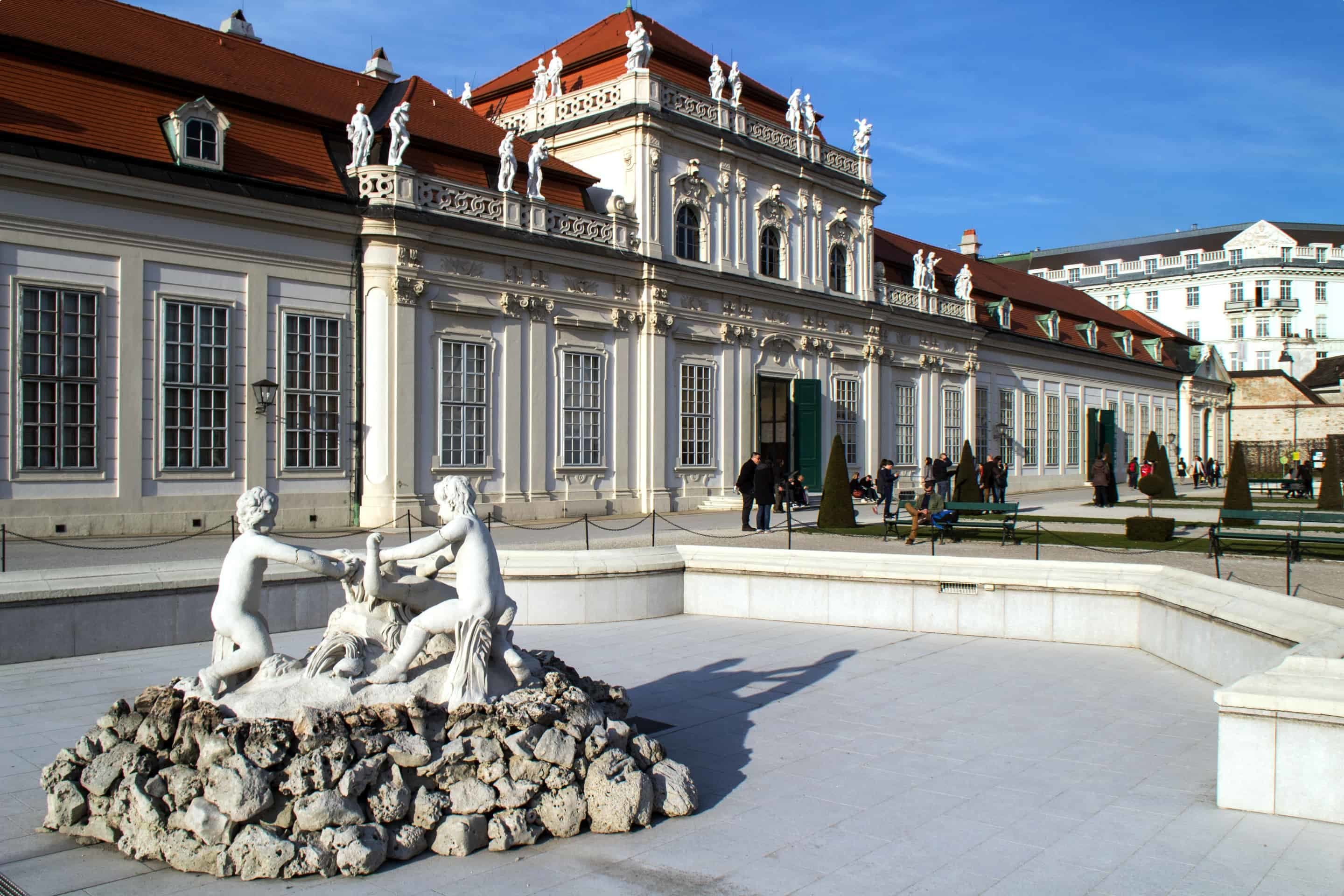 The Lower Belvedere