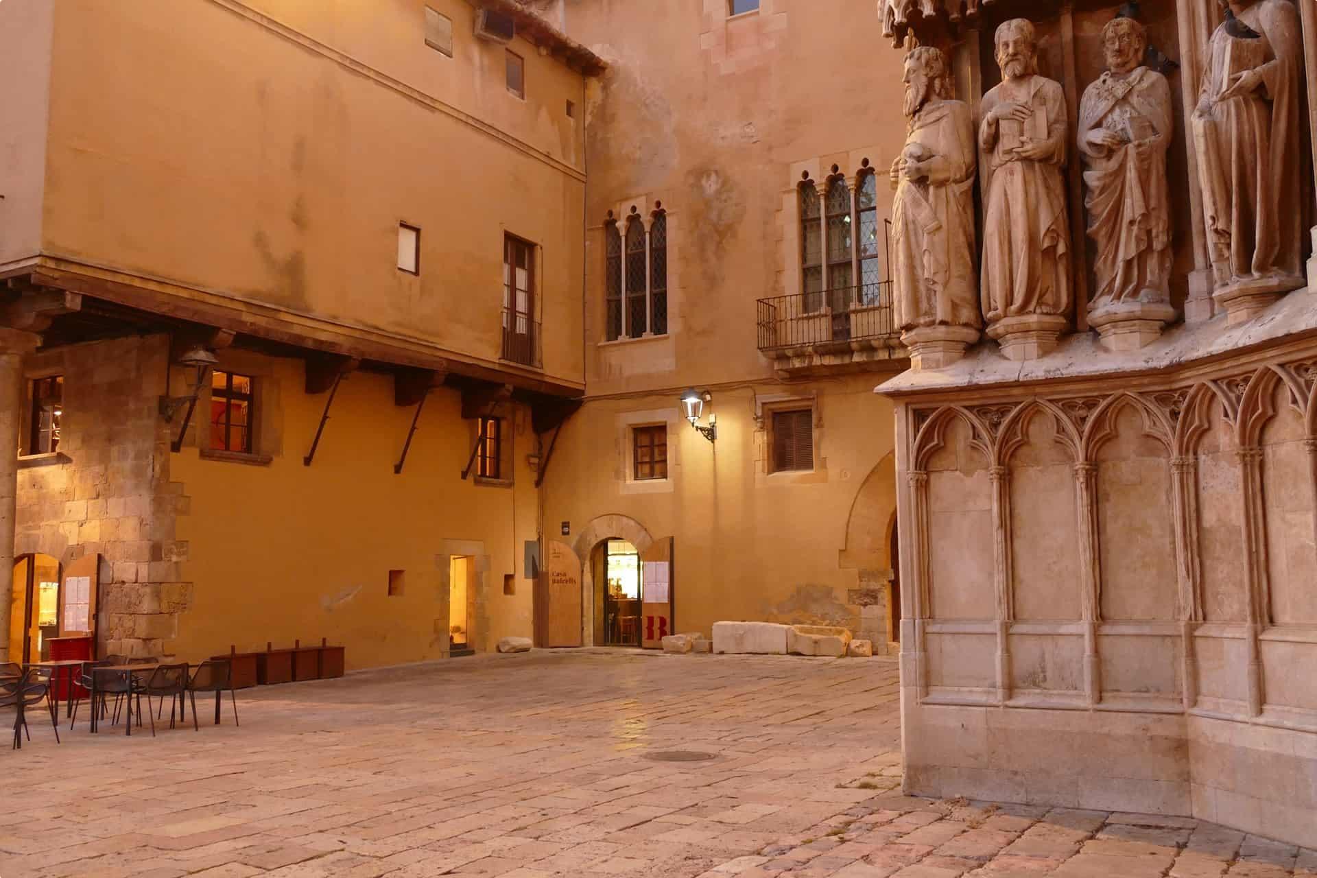 A square in Tarragona