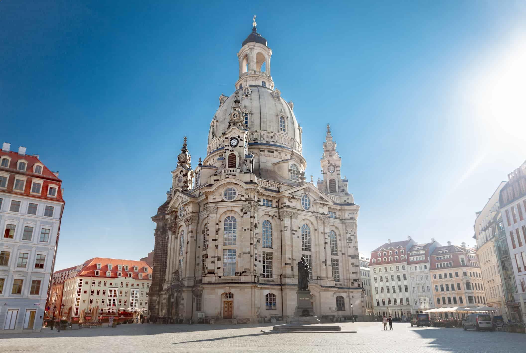 Frauenkirche in Dresden, Germany