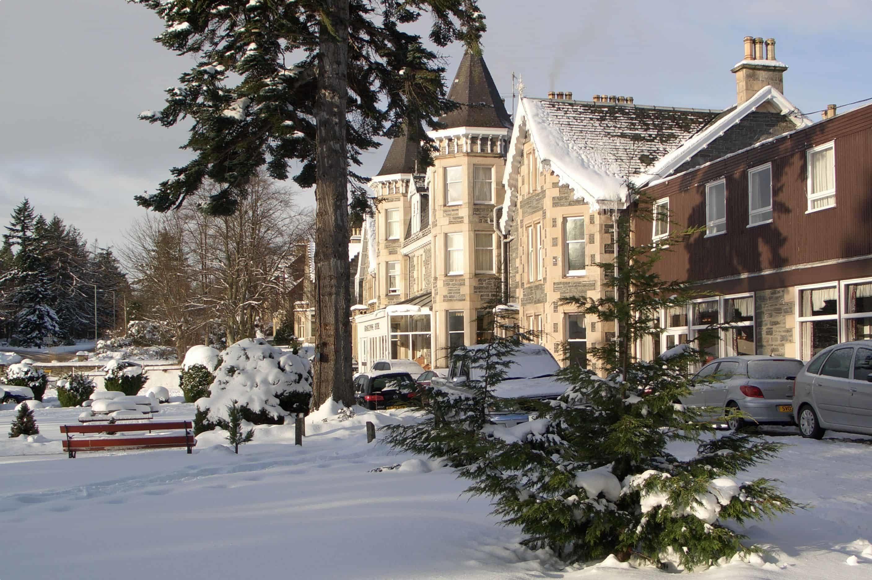 Grantown-on-Spey in winter