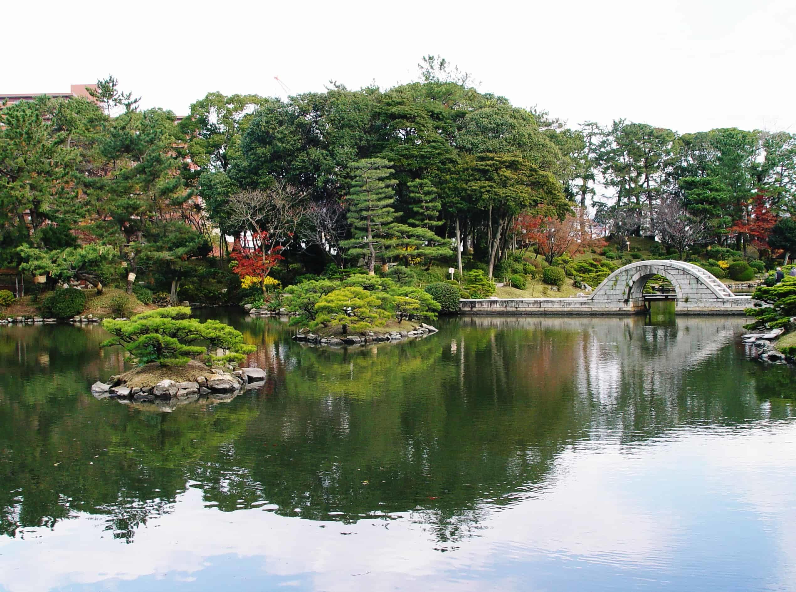 Shukkei-en Garden, Hiroshima, Japan
