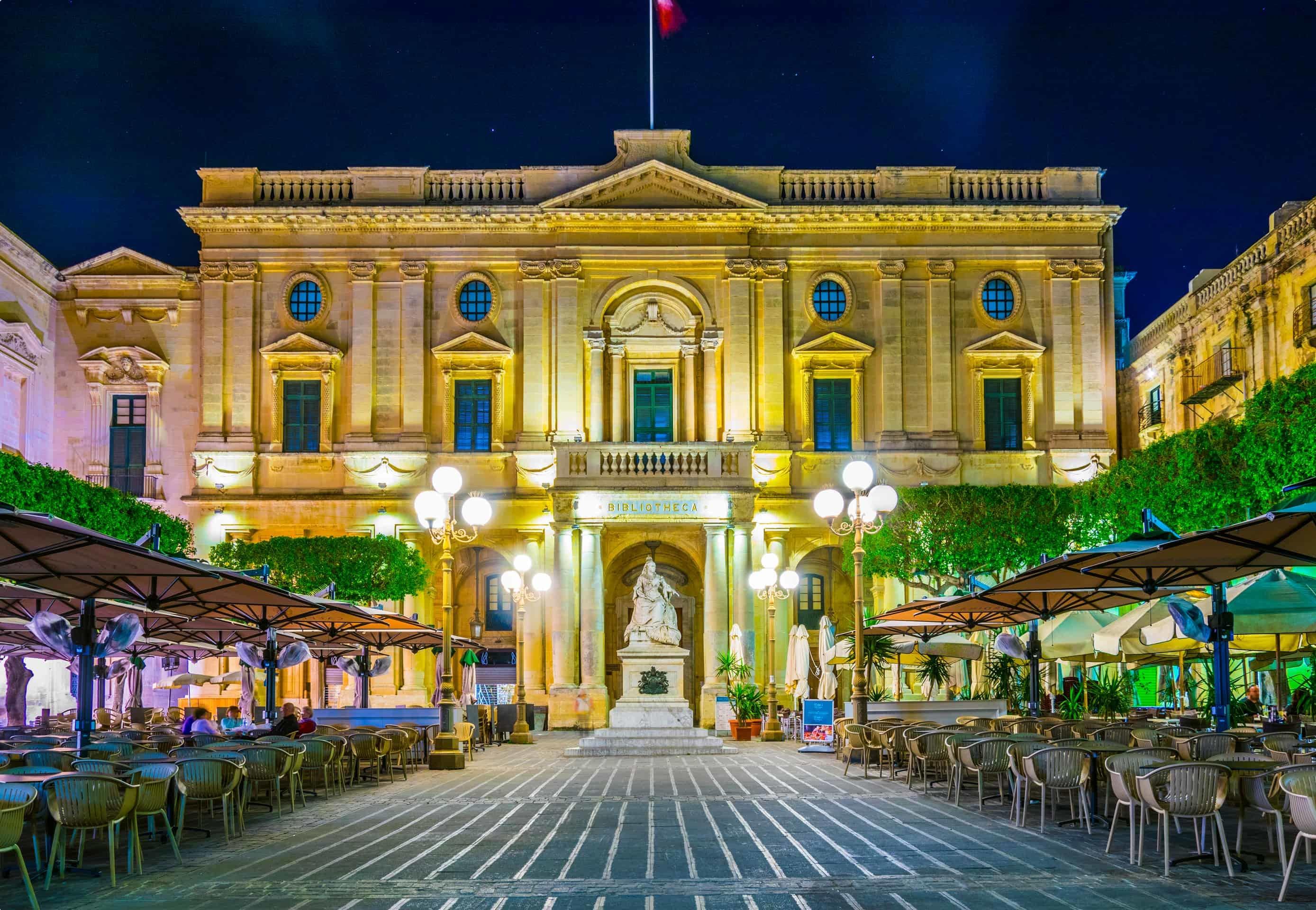 National Library Valletta