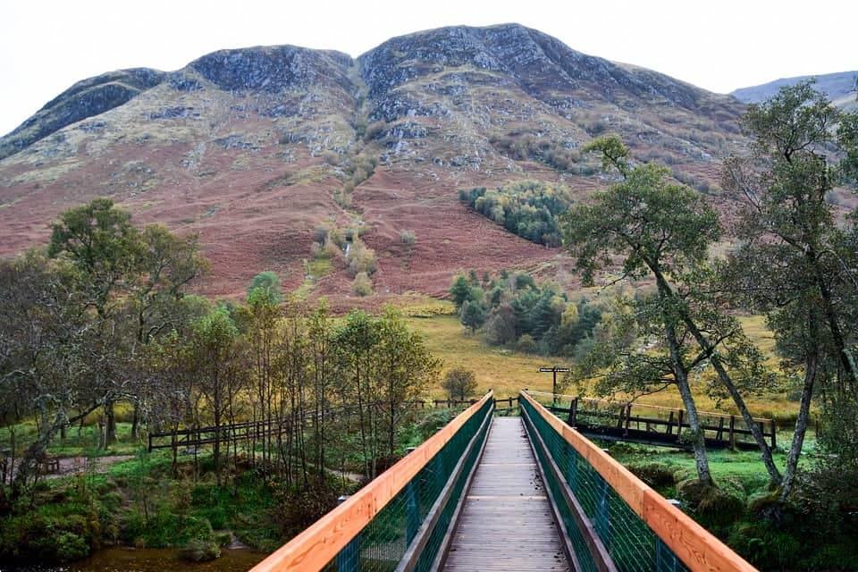 Fort William in the Scottish Highlands