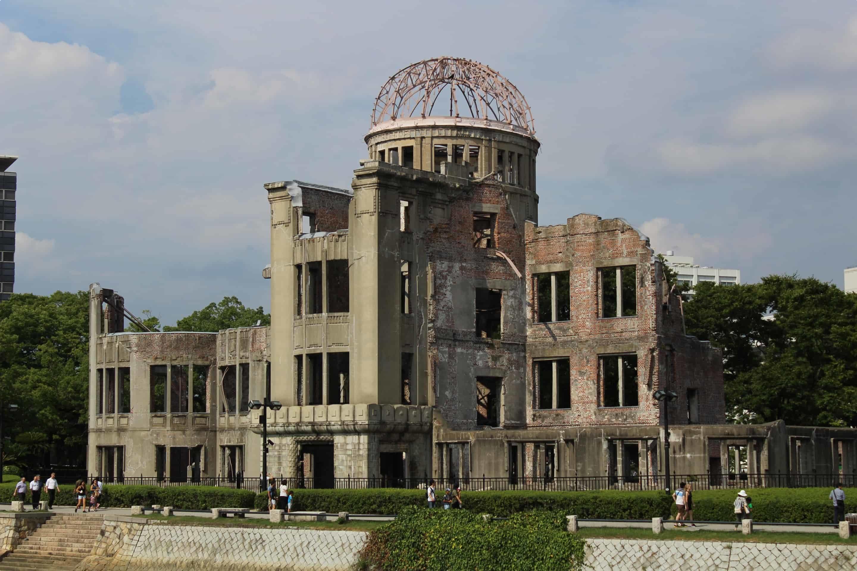 Hiroshima Peace Memorial or Genbaku Dome