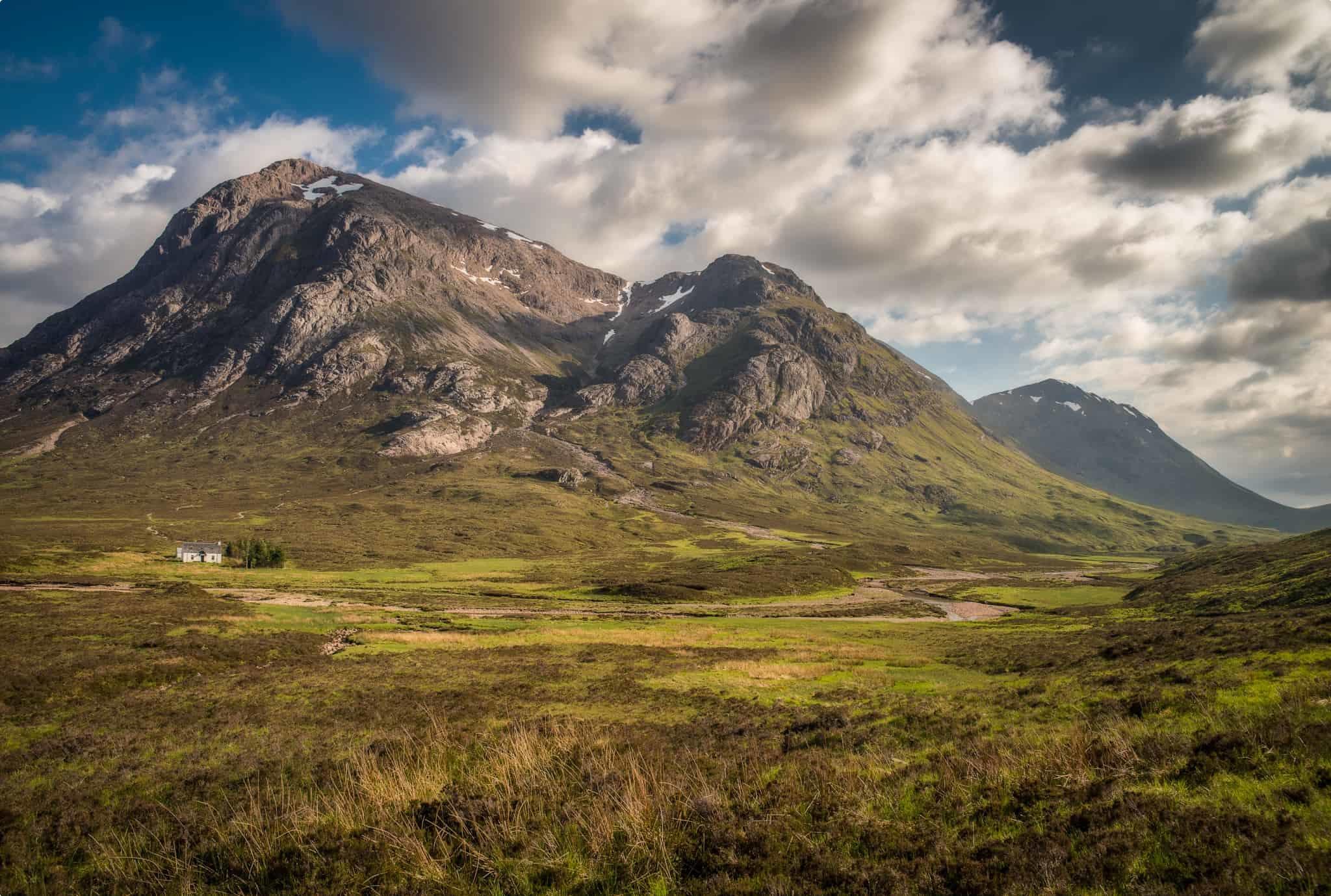 Ben Nevis, the highest peak in the UK