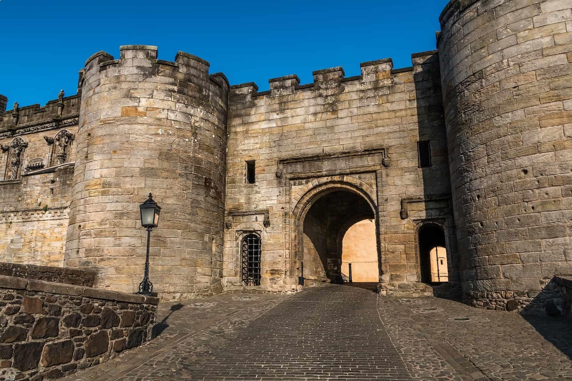 Part of Stirling Castle