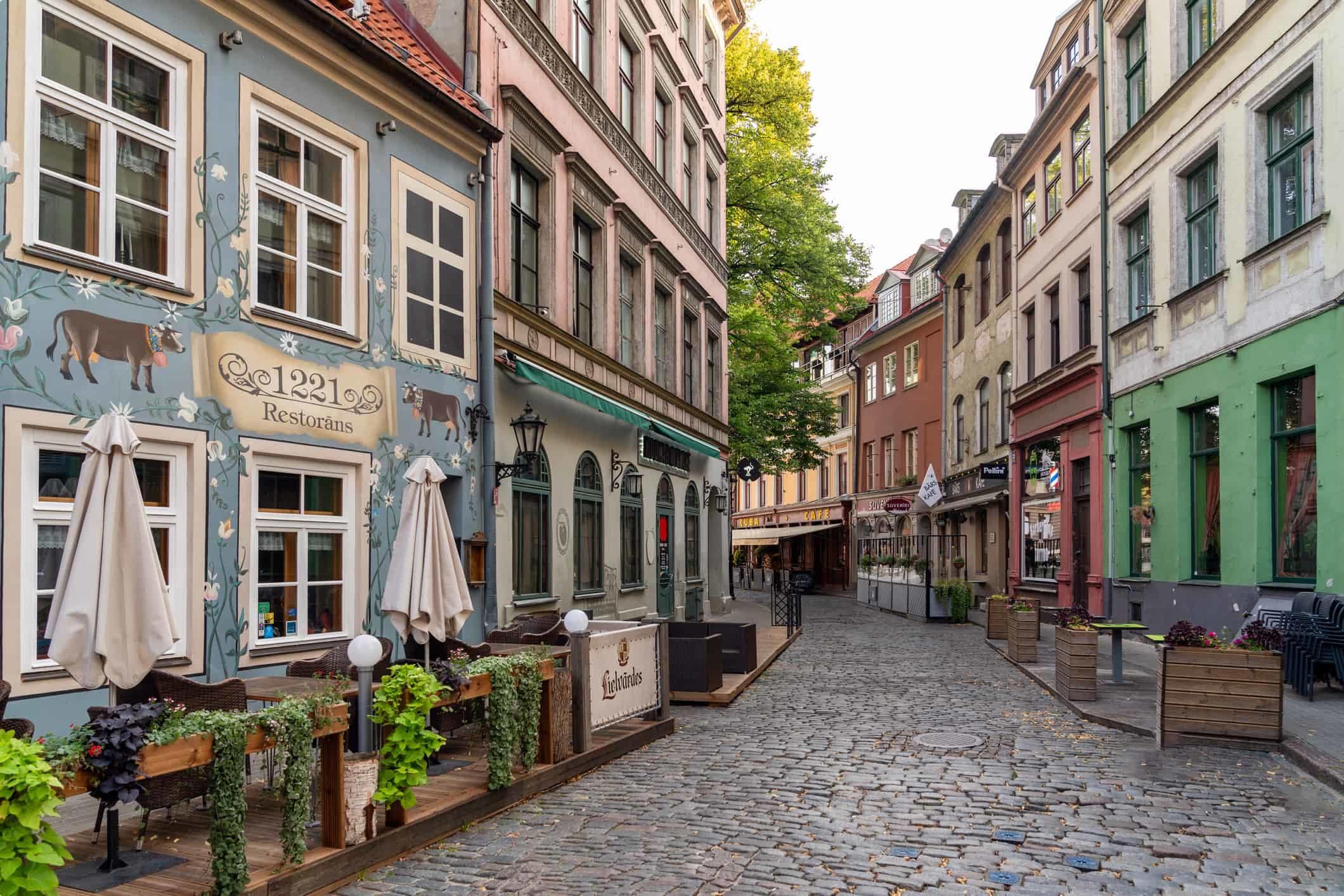 Riga Old Town - Capital of Latvia