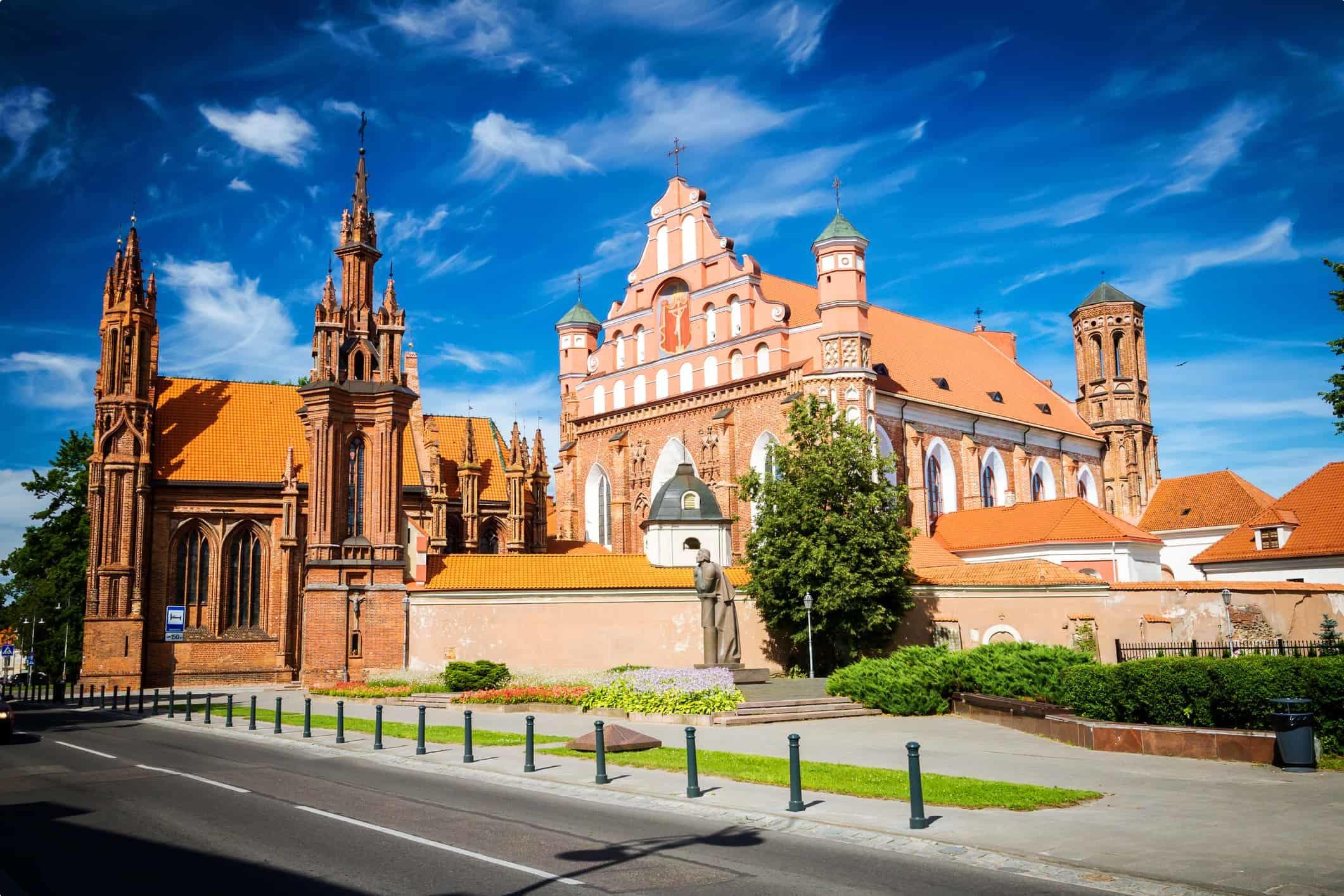 St. Anne's Church, Vilnius, Lithuania
