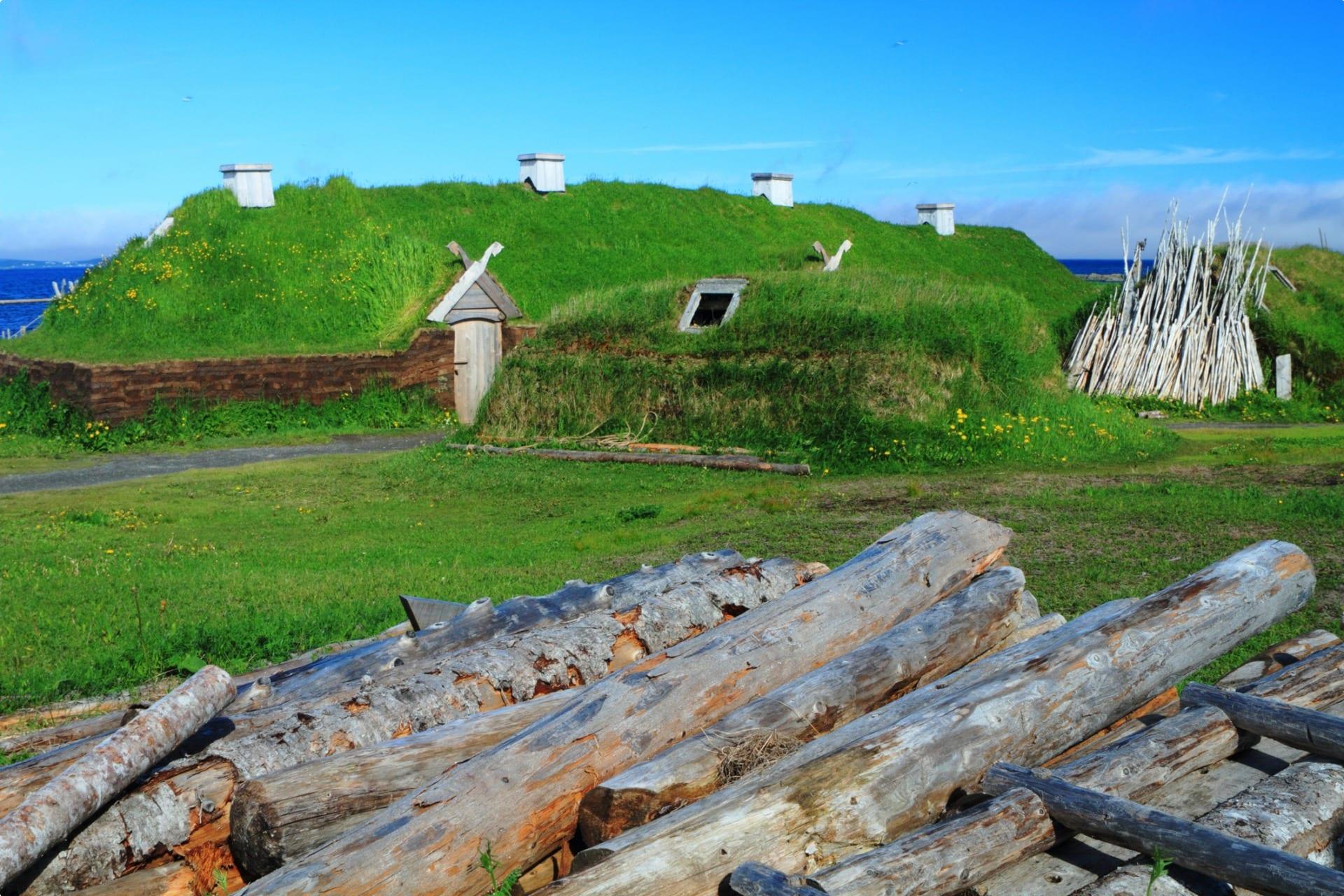 L'Anse Aux meadows Canada- Viking settlement