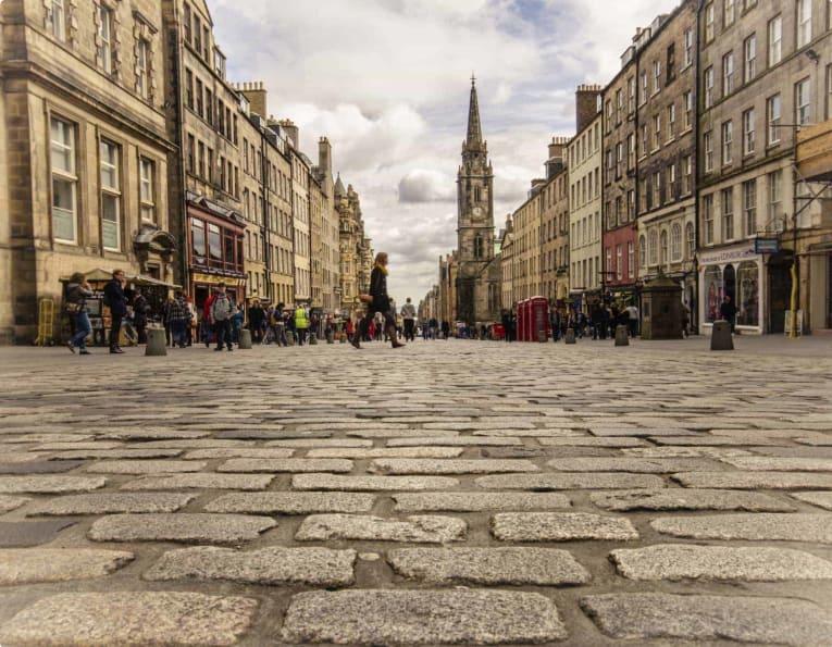Edinburgh Fringe Festival small group for Mature travellers